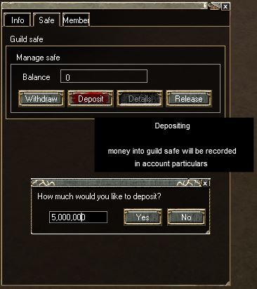 deposit 5M