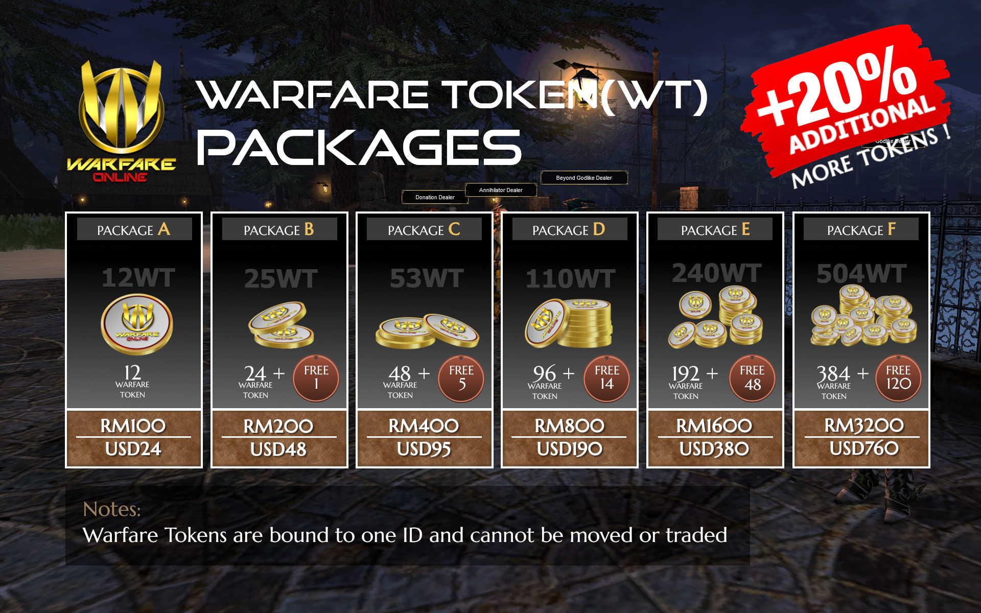 Warfare Token Purchase2